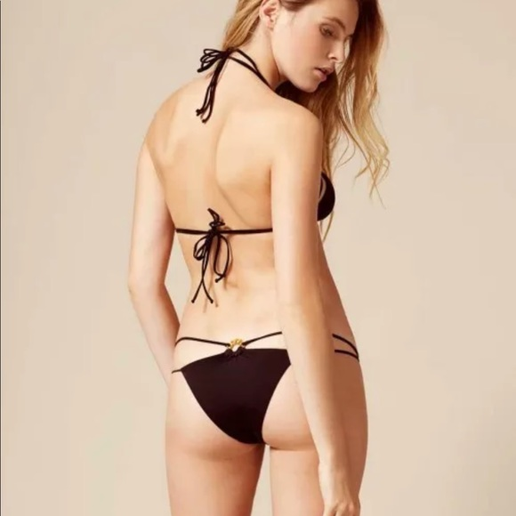 NWT AGENT PROVOCATEUR CEE-CEE BIKINI Blk TOP only c9a0d9217